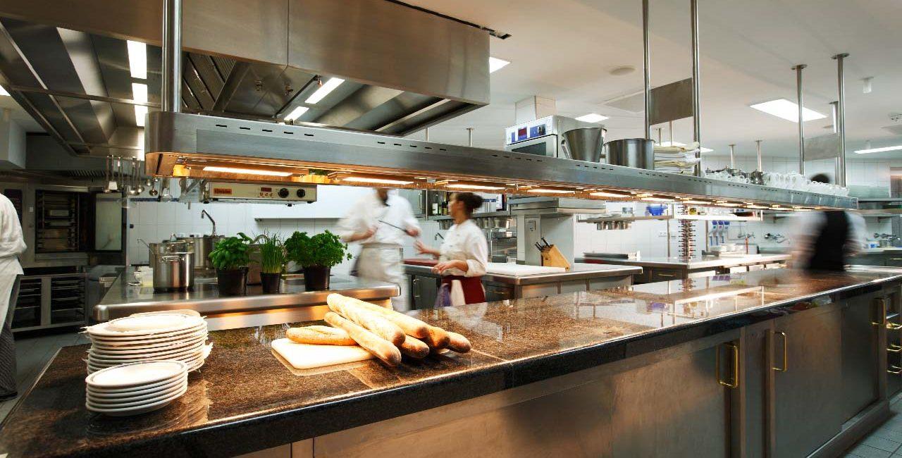 Romantikhotel Küche