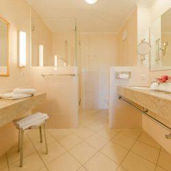 Landhotel Doerr Badezimmer